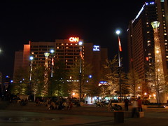 CNN Center - Night