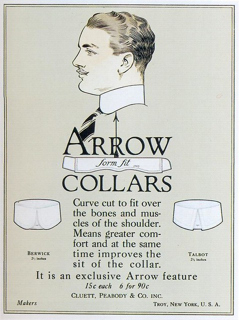 Arrow Collars, 1916