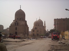 City of the Dead (helen_romberg) Tags: architecture egypt mosque historic cairo cityofthedead islamiccairo northerncemetery amribnalas