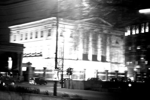 London, temps froid, noche caliente