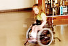 Spinning (Light Saver) Tags: blur action spin wheelchair 360 doughnut anastasia spinabifida donotcopy nikonstunninggallery donotusewithoutwrittenpermissions allmyimagesarecopyrighted ignoranceofcopyrightlawsisnoexcusetobreakthem allimagesarelicensedthroughgettyimages contactmewithanyquestions