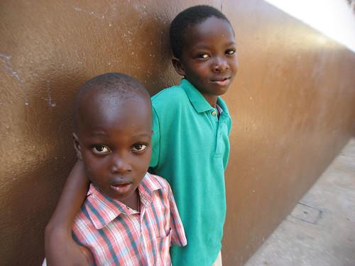 Ouidah, Benin: Roberto et Rodolfo