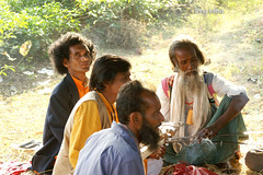 Baul and Sufi folk singers, Santiniketan, India (tonymitra) Tags: india sufi folkmusic bangla baul folkculture santiniketan bengalifolksingers