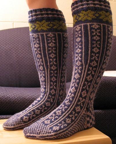 örgü çoraplar