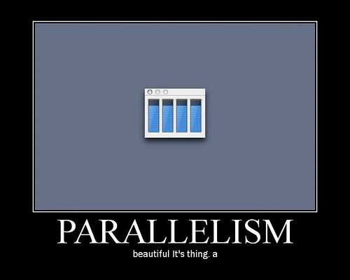 Parallelism: beautiful It's thing. a