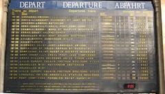 Gare du Nord Departure Board (brunoboris) Tags: paris clock eurostar bruxelles depart londres departure garedunord tgv departureboard abfahrt thalys transilien