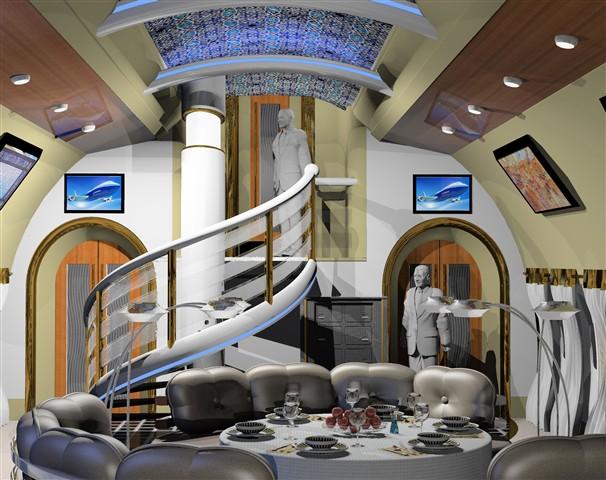 Fotos de interior del boeing 787 dreamliner vip edition for Zimbra mail ministerio del interior