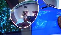 portrait selfportrait reflection sunglasses glasses mirrorproject week14 52weeks gorillapod challengeyouwinner nikonl2