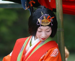 A set on Mifune Matsuri 30 (aurelio.asiain) Tags: red portrait people beauty face look festival japan rouge persona interestingness rojo kyoto colorful retrato cara joy explore arashiyama   ritual vermell  rosso  jappan   i500 aurelioasiain colorphotoaward ionushi  mifunematsuri highest317onmay302007 theasiaingallery