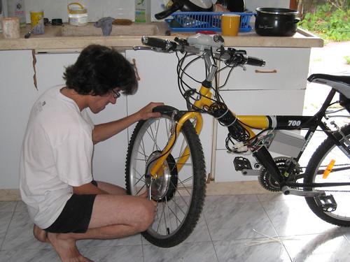 קיט להסבת אופניים לחשמליות