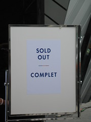 Sold Out/Complet