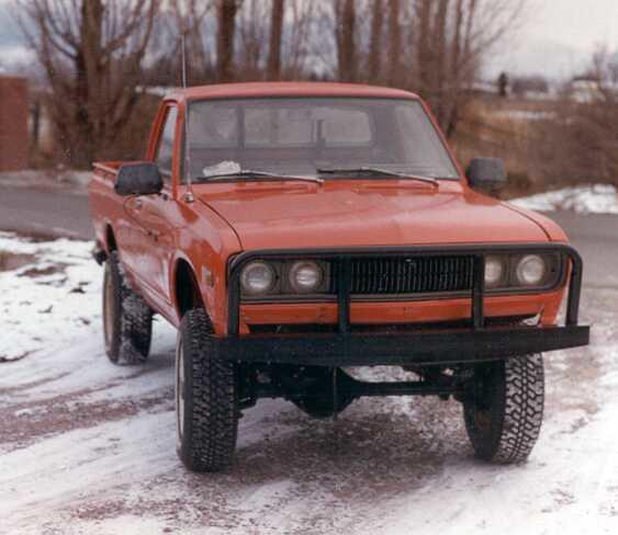 truck montana offroad 4x4 pickup missoula 1975 sohc 20l l20b nissandatsun 41952cc