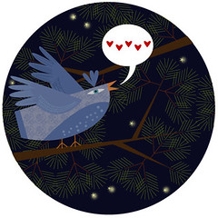 Illustration Friday - Song (Something To See) Tags: birds illustration song illustrationfriday vector adobeillustrator