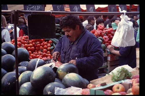 Paris: Aligre Market, Melons