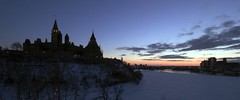 Parliament Hill and Ottawa River (Mark Demeny) Tags: winter ottawa parliament