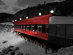 beach diner (Kris Kros) Tags: california lighting ca usa beach public cali photoshop la us losangeles interestingness cool interesting sand pix diner canyon socal kris topanga effect jjj kkg eatery kros kriskros nonhdr kk2k kkgallery
