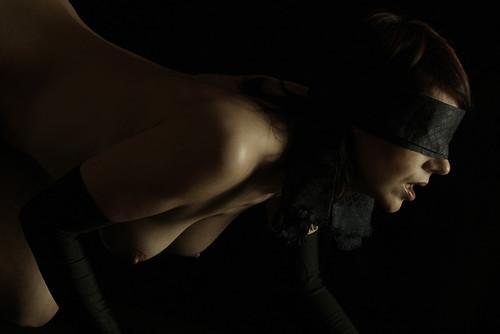 truth or dare.... -- sexy nude female portrait erotic dark skin
