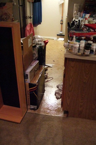 My apartment flooded--the aftermath