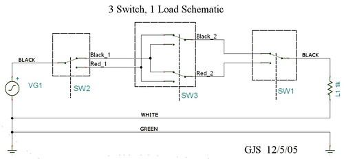 4 Way Switch Circuit