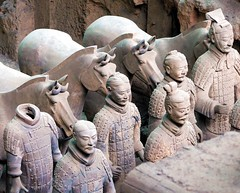 Losing your head (Heaven`s Gate (John)) Tags: china horses sculpture art history topf25 beautiful museum architecture army 500v20f terracotta tomb chinese creative xian stunning emperor heavensgate terracottaarmy wondersoftheworld top20china emperorstomb interestingness490 i500 bluelist flickrific johndalkin heavensgatejohn