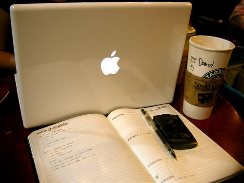 MacBook in the Coffeehouse 1