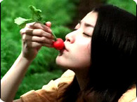 成海璃子_1日分の野菜『野菜食べる 篇』-3