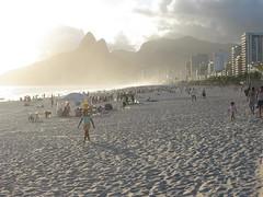 ipanema mist, ipanema missed (kexi) Tags: sunset shadow wallpaper brazil people mist beach silhouette rio riodejaneiro silver evening sand miss ipanema missed instantfave