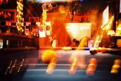 Psilocybin Billiards (lomojunkie71) Tags: lomo lca 35mm film analog billiards double exposure pool shark
