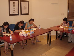 Focus Group for Spanish woman wear company (China Bay - Shanghai, China)