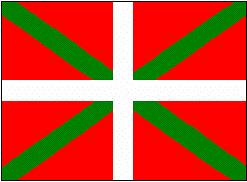 Baner Gwlad Basg (Ikurriña)