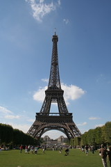 Eiffel Tower from Champs de Mars