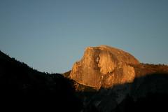 half dome (theorem) Tags: yosemite nationalpark sunset rocks
