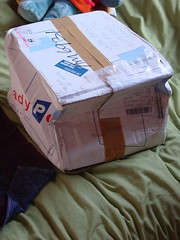 MY FIRST PACKAGE!!