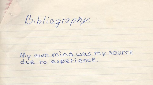 bibliography by papertrix, on Flickr