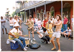 Music New Orleans style (by Brenda Anderson)