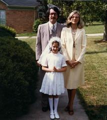 My First Communion (sharkycharming) Tags: communion family girls catholic holy