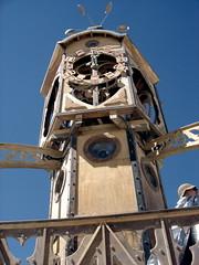 Beautiful Clocktower (ekai) Tags: burningman burningman2005 clocktower borg2