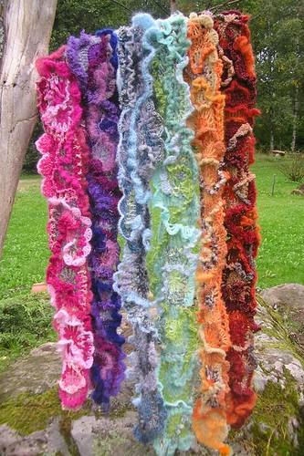 Knot Just Knitting - Freeform Fibre Art by Prudence Mapstone