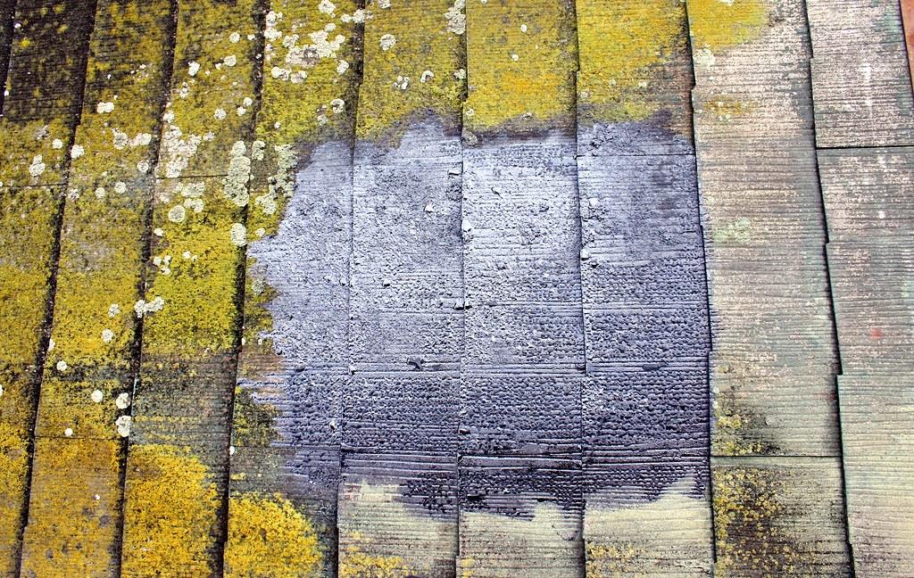 not art bitumen on roof