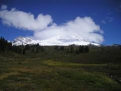 Hiding Mt Baker