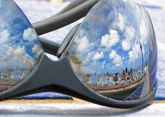 The Looking Glass (Jeff Clow) Tags: sky reflection topf25 sunglasses clouds topf75 100v10f explore weeklysurvivor weeklyblog10 jeffclow 1500v40f exploretop20 abigfave copyrightedbyjeffrclowallrightsreservednounauthorizedusageallowed