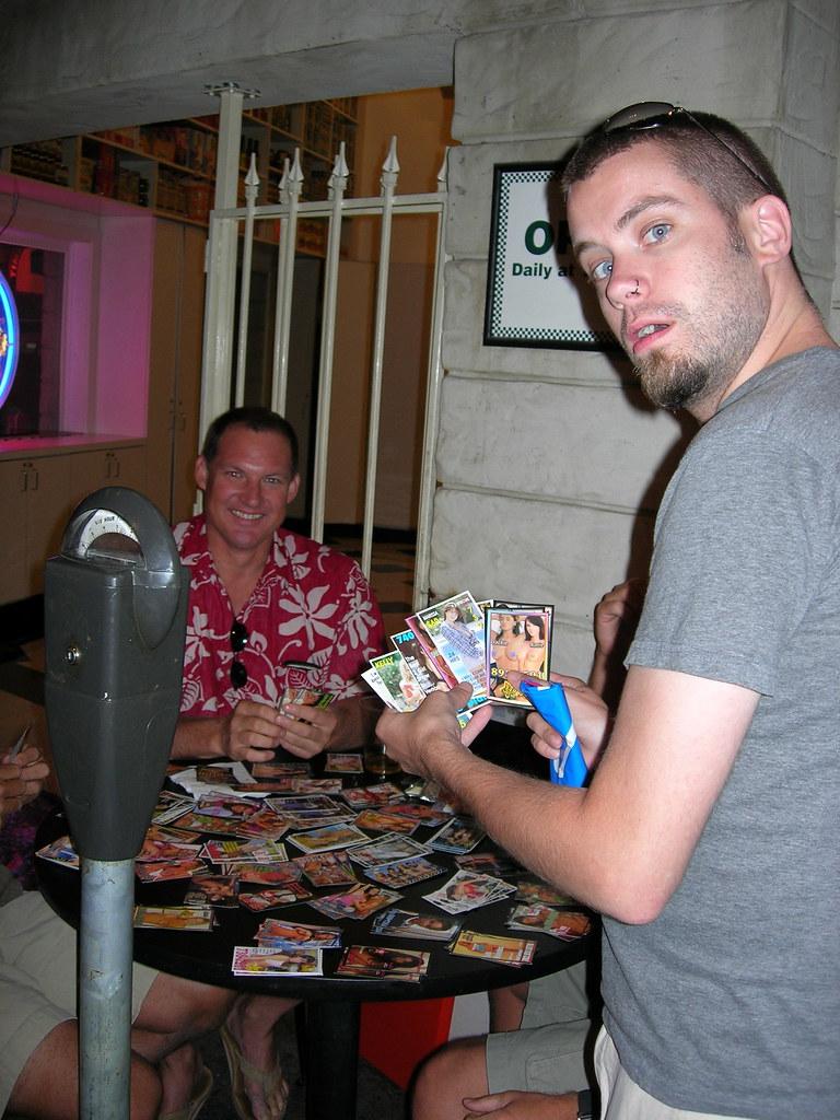 Forget Hockey Cards - Kurt's Trading Porn!