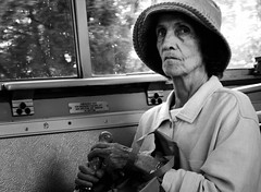 Married Woman on Bus (Elinesca) Tags: portrait woman bus boston lady angry fv10 oldlady oldwoman passenger save10 71watertown magmag efolio efolio2 dorchesterp