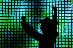 light wall (lomokev) Tags: blue man green silhouette night canon lights sand desert head squares led burningman blackrockcity dust eos300d blackrock burningman2005 lightwall blackrocksands rota:type=showall rota:type=silhouette rota:type=lowlight rota:type=portraits file:name=crw4665 use:on=moo thecloud:selection=music
