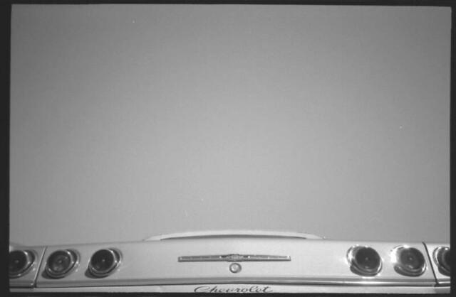 chevy chevrolet impala 1965 taillight bw olympusxa2 xa2