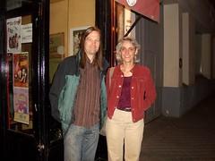 Two Bloggers Meet (gordonwatts) Tags: geotagged gordon ursula paris