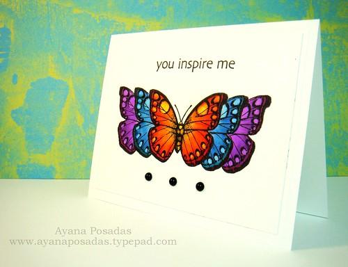 Copic Butterflies (9)