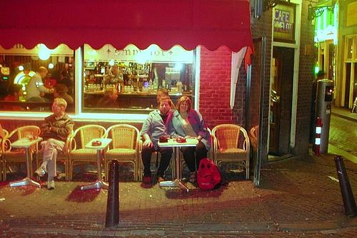 Cafe Emmelot, Oudezijds Voorburgwal