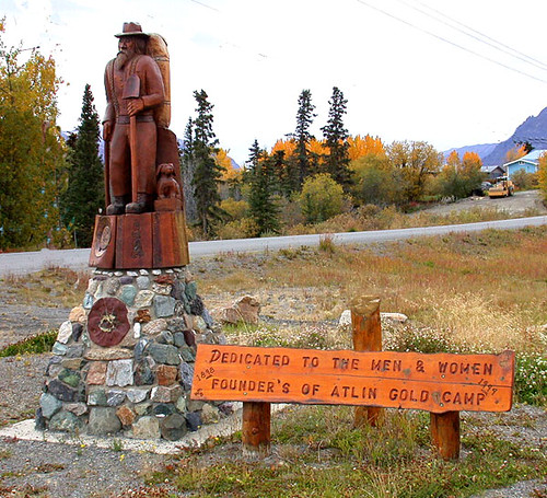 Atlin Gold Miner Tribute