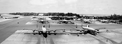 Midway Flight Line 1960 abt (Pauls Travel Photos) Tags: road trip travel vacation usa america unitedstates navy roadtrip airforce rantoul usatravel willyvictor wv2 ec121 navyairforceaewreunion2005 chanuteafbmuseum travelusa